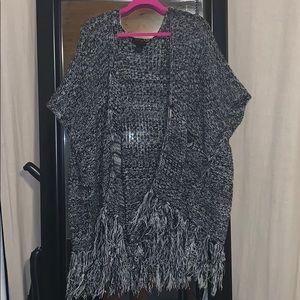 Steve Madden Boho Knit Short Sleeve Sweater